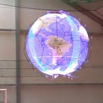 Advertisement Delivery Drones? - NTT Docomo, has created a drone with an external 360 degree LED spherical display. https://t.co/OkXXVbpa0t