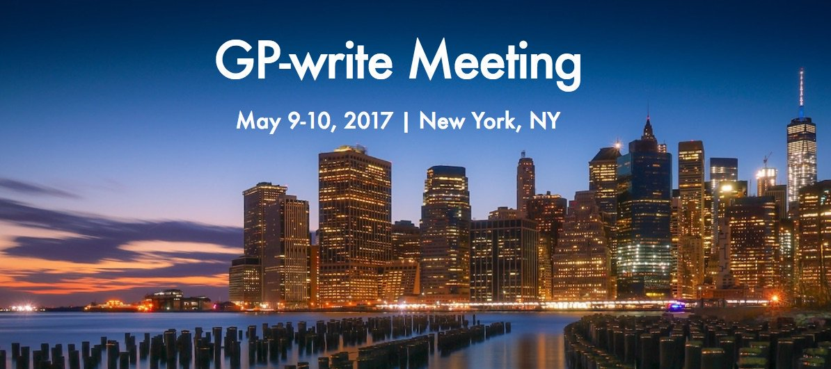 So far, more than 220 scientists, industry leaders, ethicists, and policy makers from 10 countries will gather next week to plan #GPwrite https://t.co/IocGqb8ipY