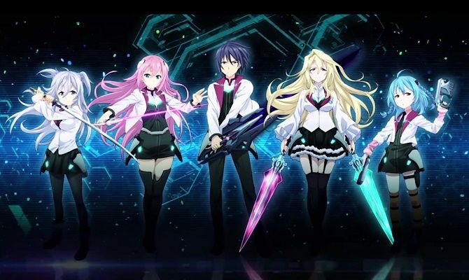 AnimeGodReviews Asterisk War Anime Slice Of Life Action Ecchi Fantasy Romance Comedy Meteor Changes Humans W New Powers HS Kids Battlepictwitter