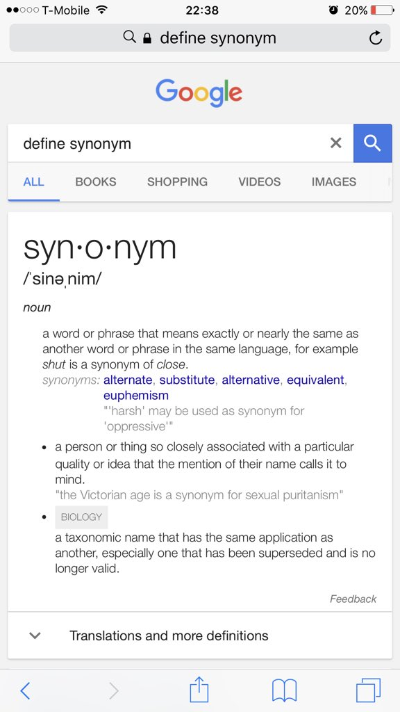 Shower Thoughts On Twitter The Antonym Of Synonym Is Antonym But