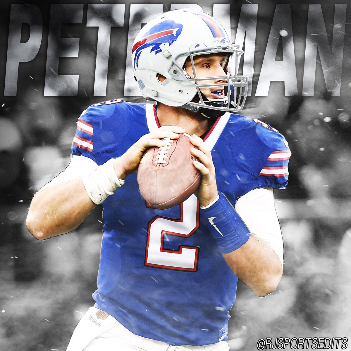 best sneakers 0e62f f6aea nathan peterman 2 buffalo bills jersey