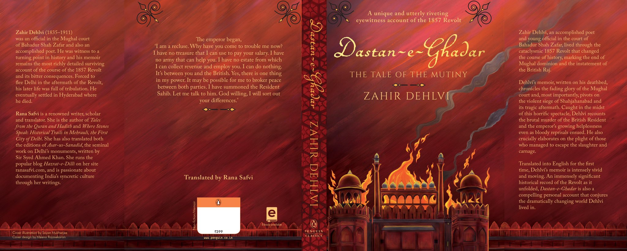 """Rana Safvi رعنا राना on Twitter: """"I've been working on it for some years. And the wait is finally over! Dastan e Ghadar in my hands @PenguinIndia ..."""
