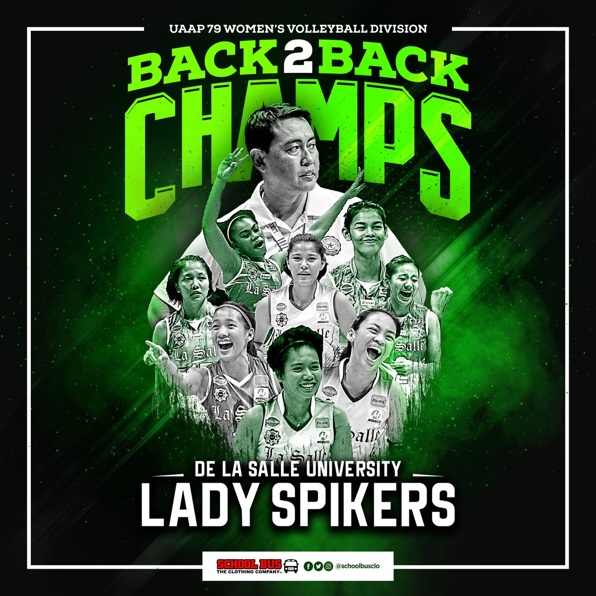 De La Salle University Lady Spikers Is Your UAAP Season 79 Womens Volleyball Champs AnimoLaSalle Tco OJ5sRZ9WkJ