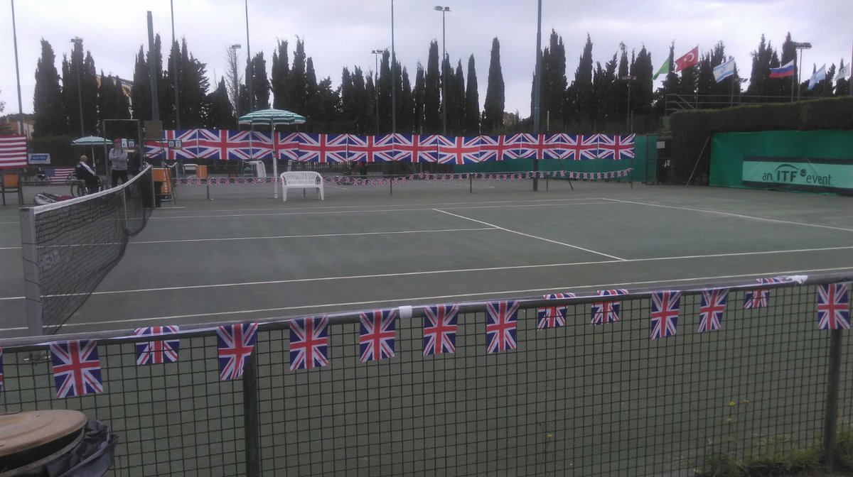 Tennis Foundation On Twitter Court Decorators Have Done A Fab Job