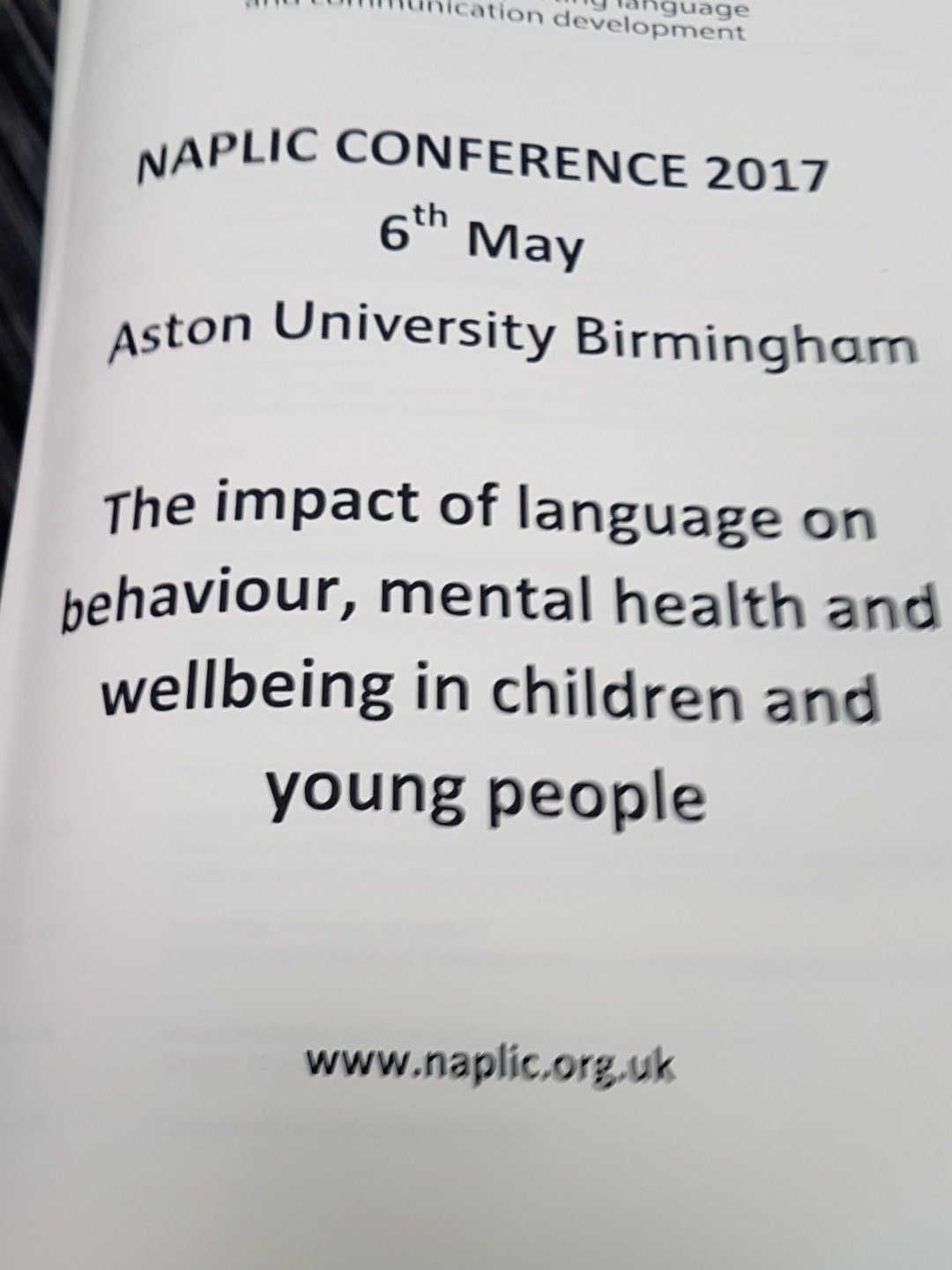 Looking forward to the day! #naplic17 https://t.co/6NrmhWmPo5