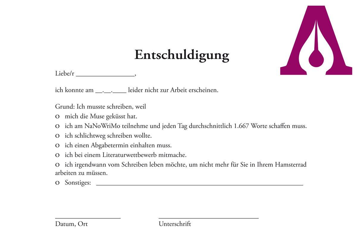 Atemberaubend Kostenlose Dr Entschuldigung Vorlage Bilder - Entry ...