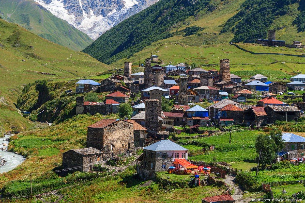 село картинками грузия один самых многочисленных