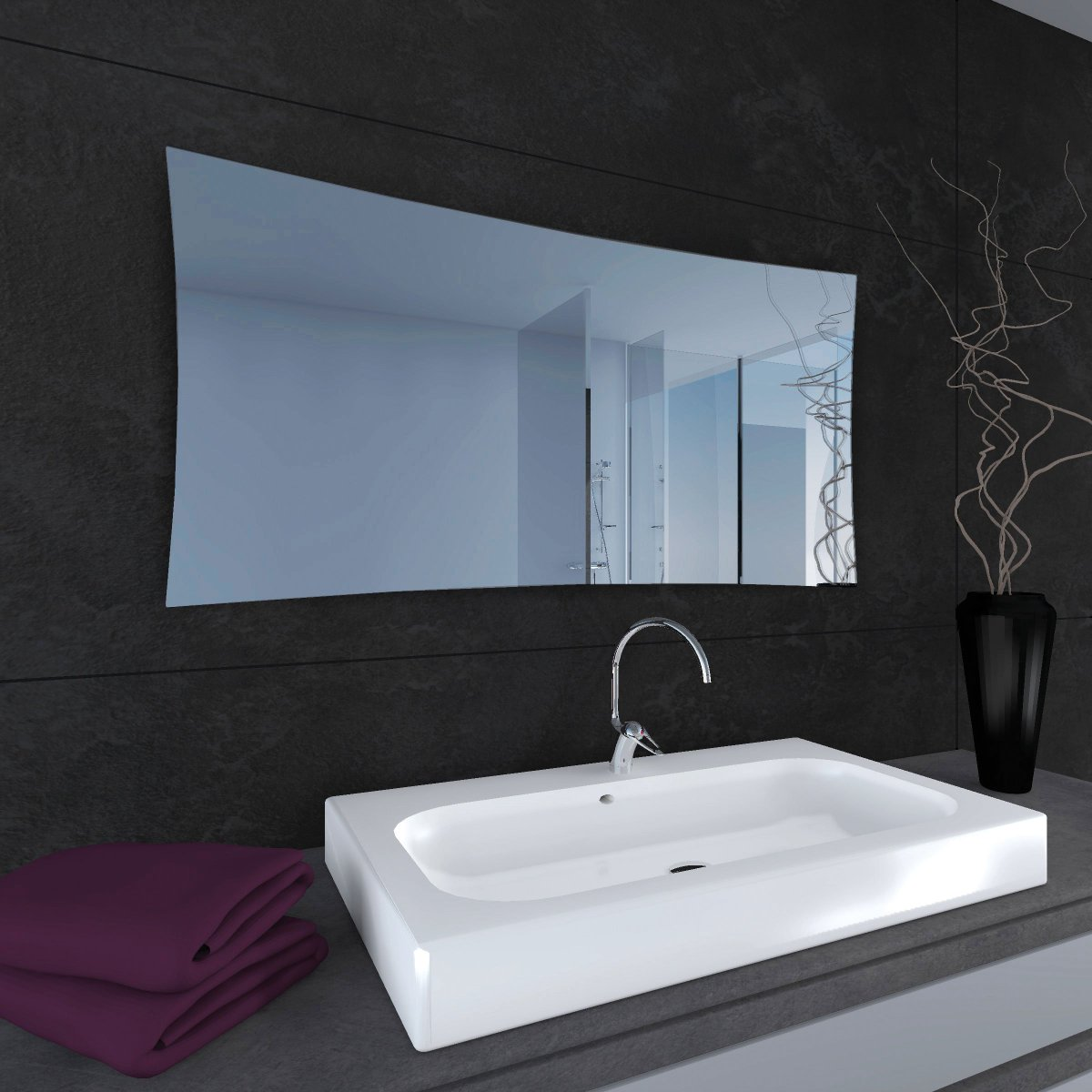 Downflow Bathroom Heater Bathroom Wall Heater Uk Rpx Range A Large Luxury Frameless Glass