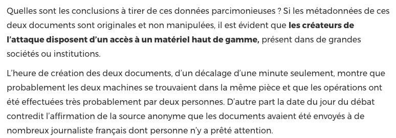 La fausse nouvelle d'un compte d'Emmanuel Macron dans un paradis fiscal paraît bien trop professionnelle https://t.co/f3BL3oOmgI