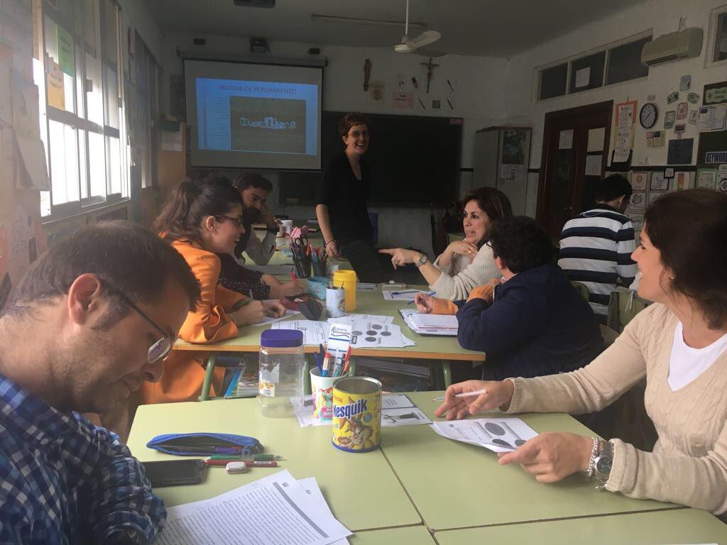 """Salesianas Utrera on Twitter: """"Profesor@s de primaria reciben una masterclass sobre aprendizaje cooperativo y siguen su formación en esta técnica ..."""