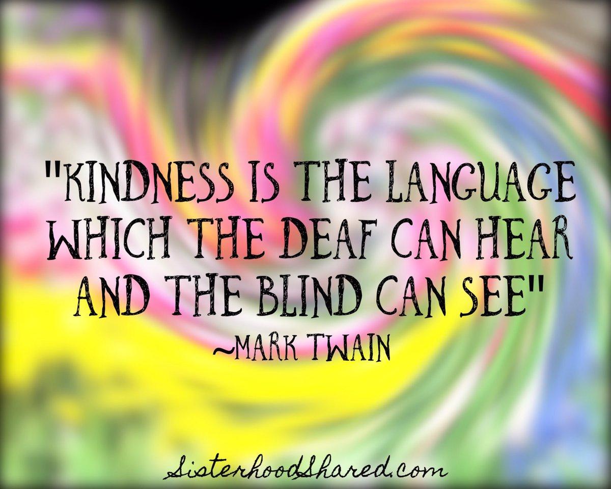 RT @KariJoys: #Kindness is the language ... #JoyTrain #Joy #BeKind #BeLove #BePeace #SuperSoulSunday  https://t.co/HAsF6Vtgf8  RT @SoManySt…