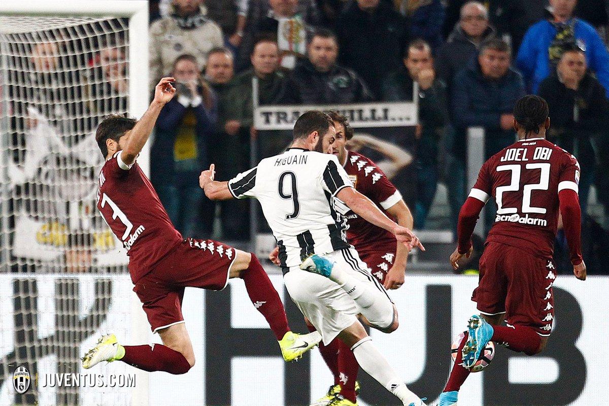 Juventus Torino 1-1: Higuain pareggia al 92'. Rimandata la Festa Scudetto