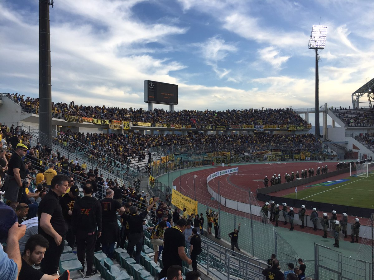 Старт финала Кубка Греции был отложен из-за потасовки болельщиков