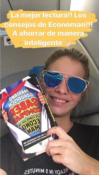 Viajando y leyendo a @marianogoro!! Aprendiendo a ahorrar de manera inteligente 👌🏻👌🏻 https://t.co/Rz