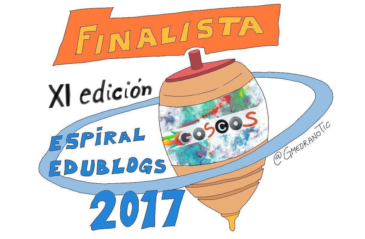 FINALISTAS premio ESPIRAL EDUBLOGS