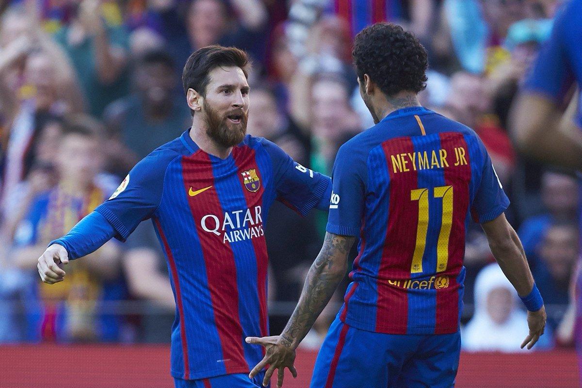 «Барселона» выиграла пятый подряд поединок виспанской Примере