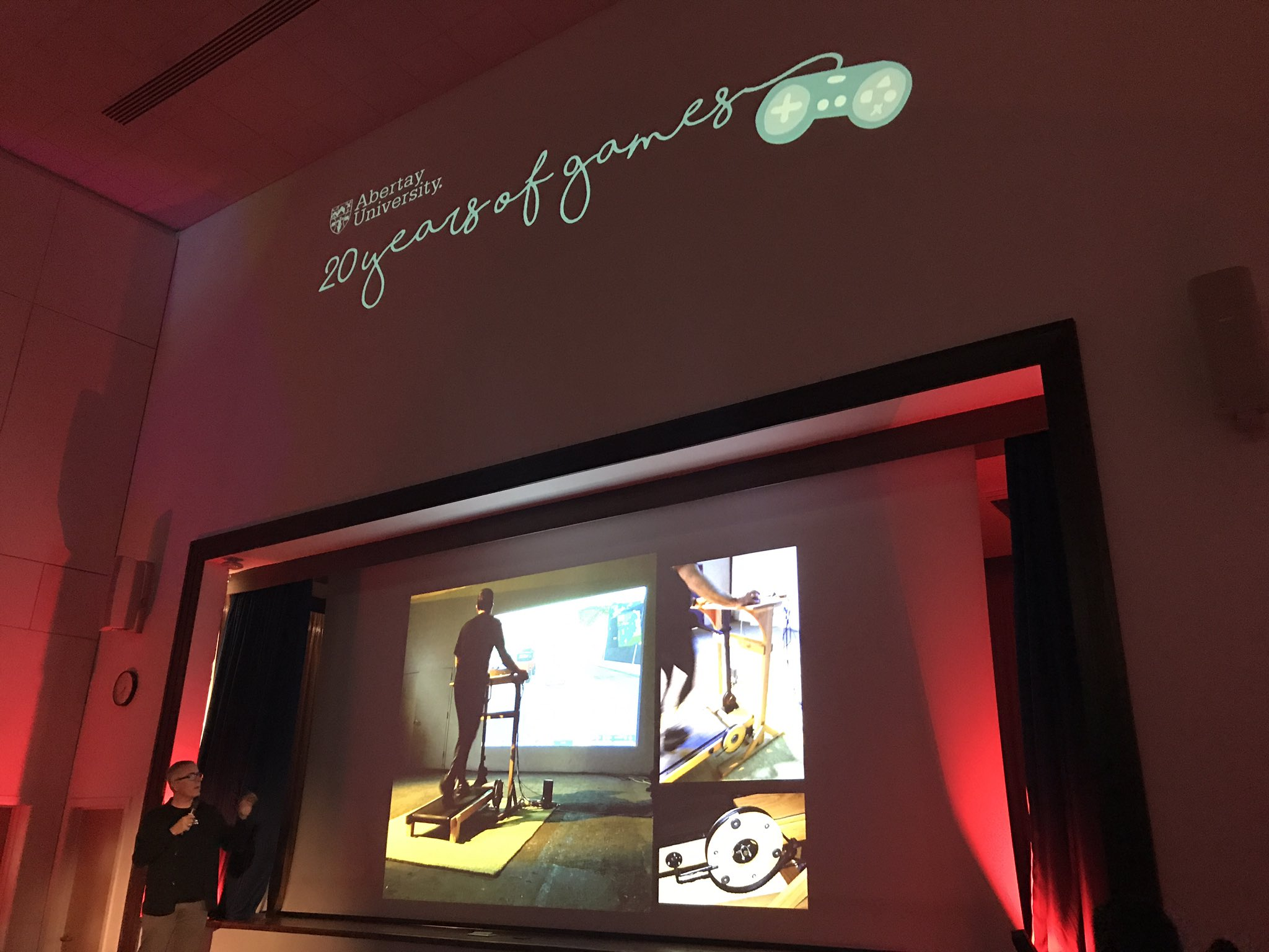 Bringing reality into gameplay - @josephdelappe at #GamesPK #AbertayGames20 https://t.co/OZqheBYyLe