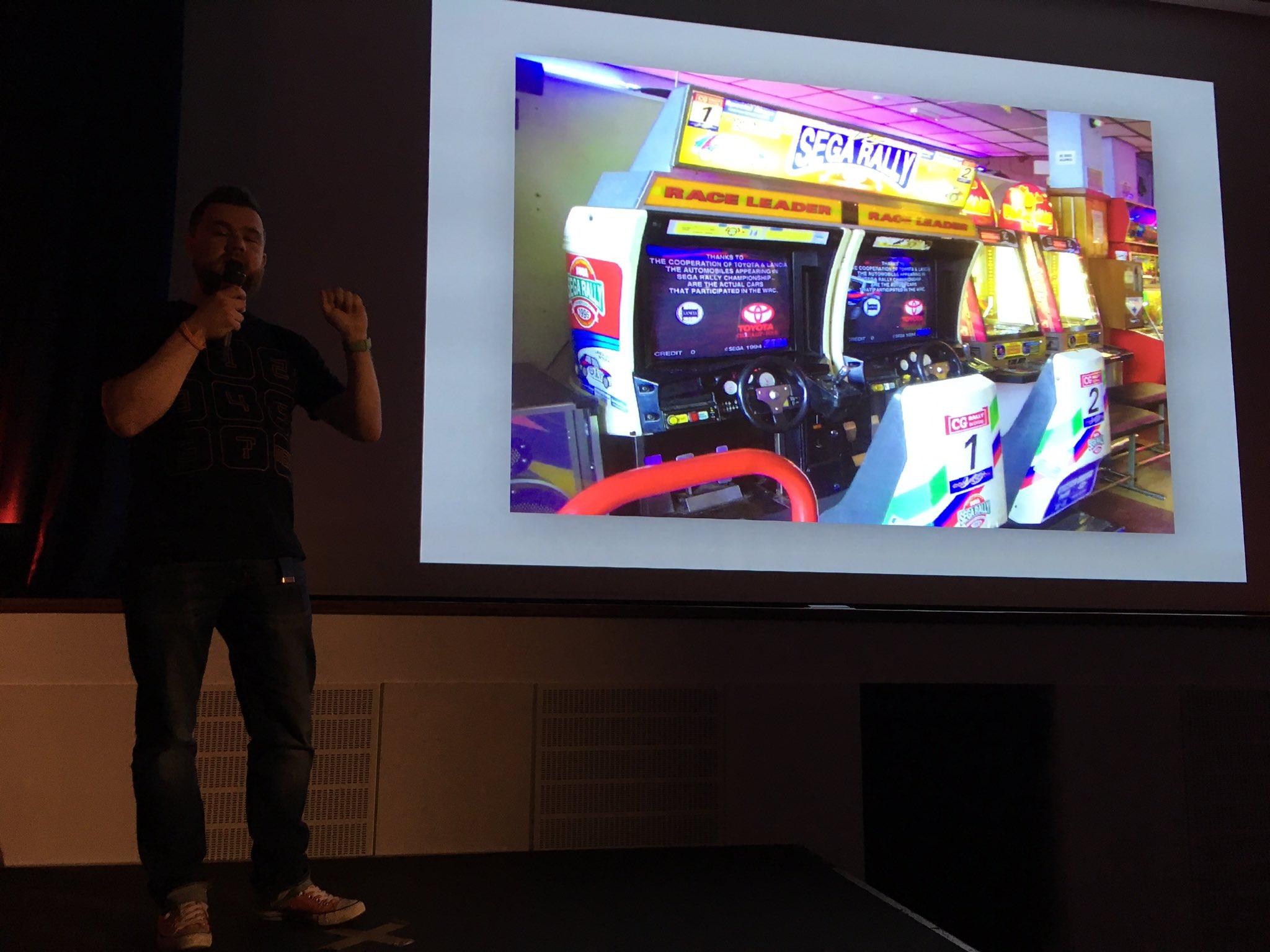 Danny Parker, Head of Mobile Technology, Ninja Kiwi talks 20 personal gaming memories, as our final speaker tonight! @mono_eric3 #GamesPK https://t.co/Ny3CXK7ZQE