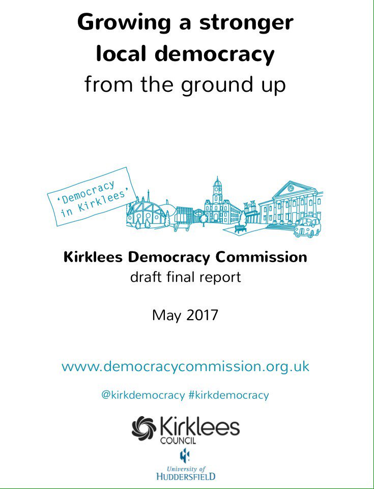We've fed into each stage of #kirkdemocracy now it's time to talk about recommendations at live debate Weds 10th May https://t.co/CZGyx9TQwD