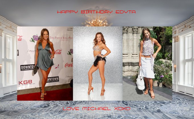 Happy Birthday treat to this DWTS Beauty with love and light