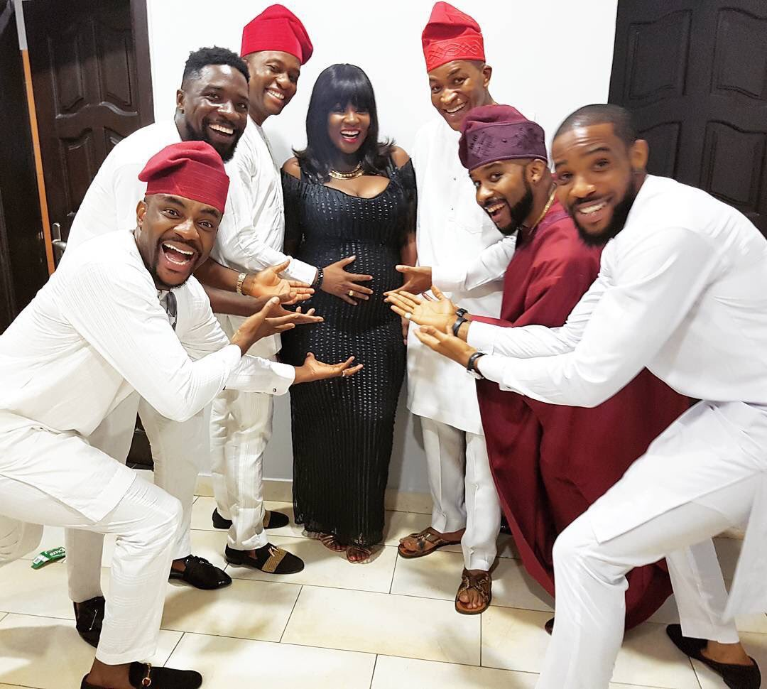 Photos Tolu Oniru Toolz pregnant