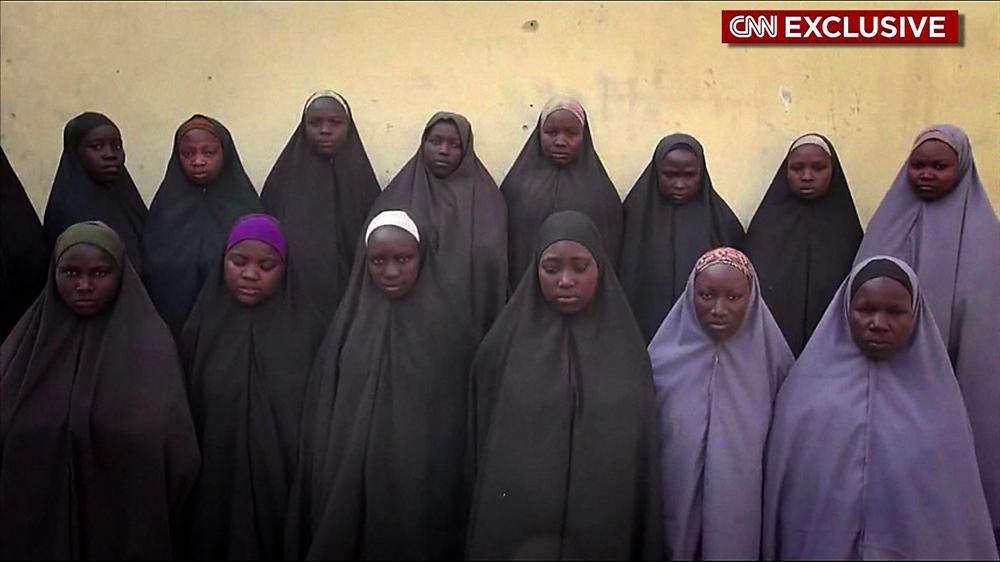 Risultati immagini per Nigeria: 82 Chibok girls freed by Boko Haram @AJENews