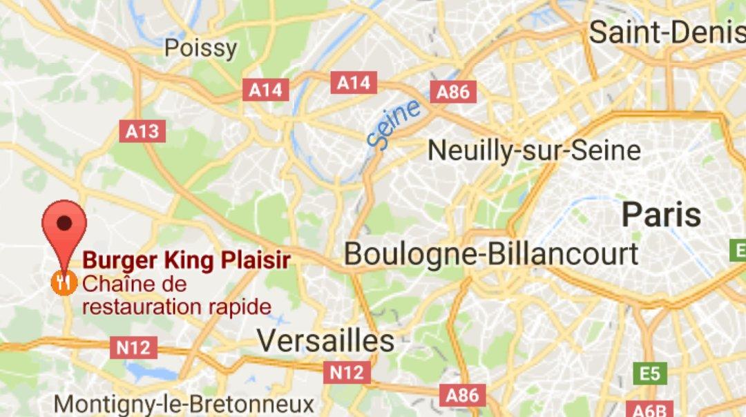 BREAKING NEWS -  #Fusillade sur le parking d&#39;un Burger King de Plaisir (#Yvelines) vers 21 h 30, la victime est originaire de Trappes.&quot;<br>http://pic.twitter.com/LLy1QFecLK