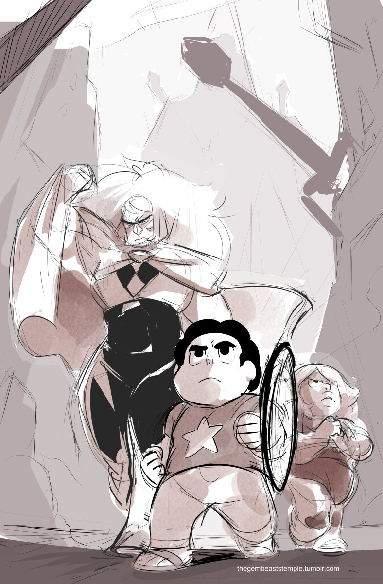 """""""Have these quartzes I drew over a year ago OOPS #StevenUniverse https://t.co/9aZk29MXb6"""""""