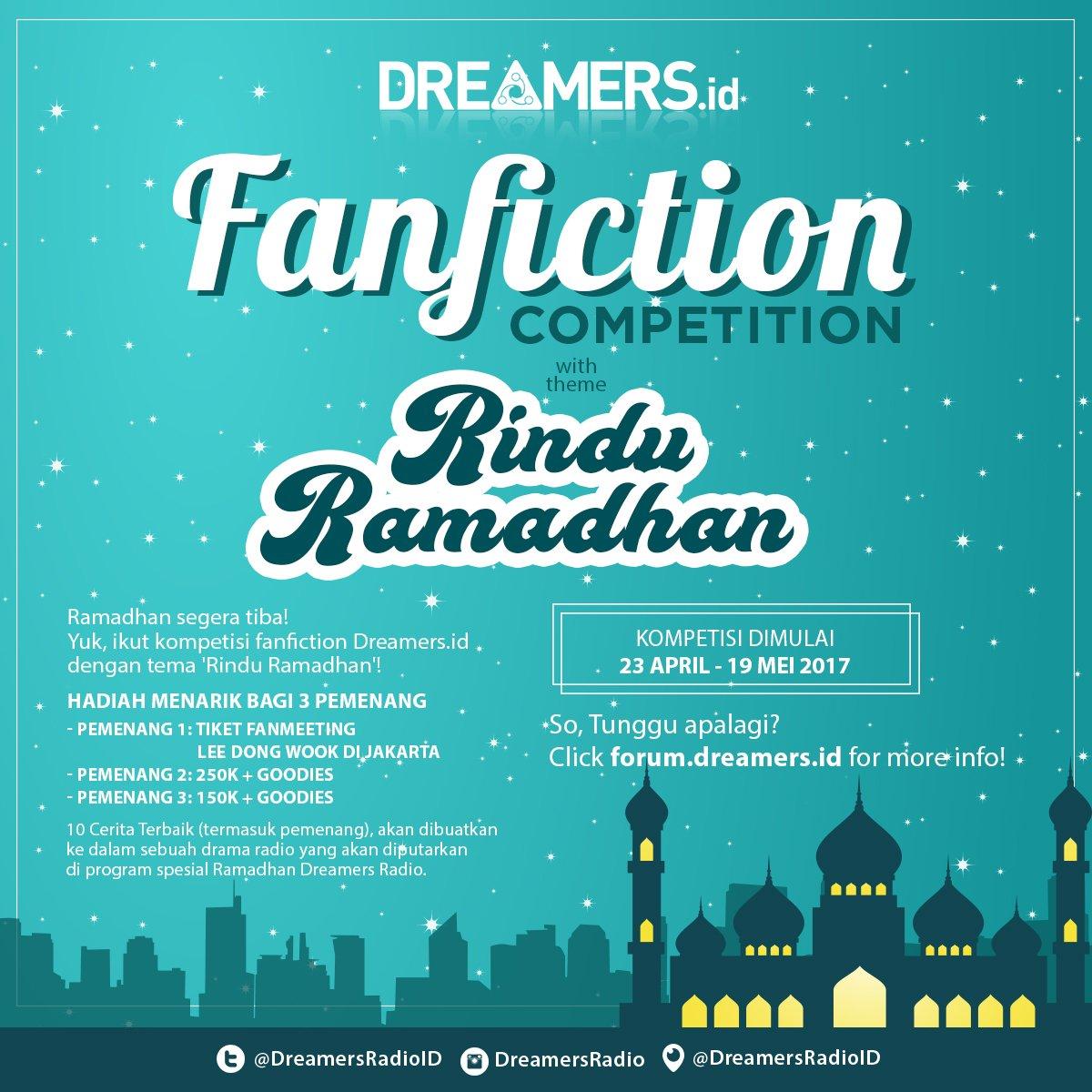 [DreamersxLeeDongWook] Kompetisi Fanfiction Spesial Ramadhan