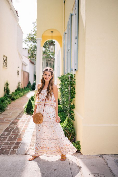 Flouncy Tiered Maxi Dress