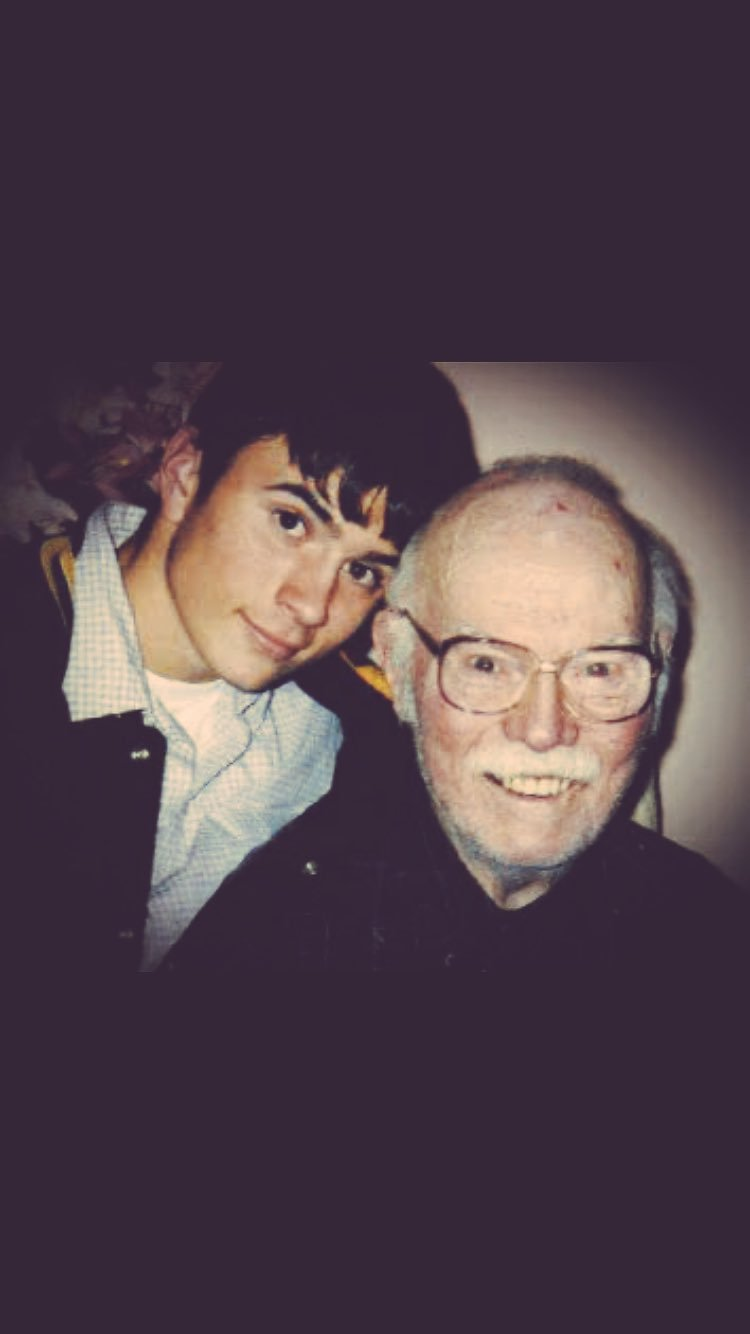 Happy Birthday to the best person I have ever met.  My grandpa. Beiman Otis Prince. Miss you!
