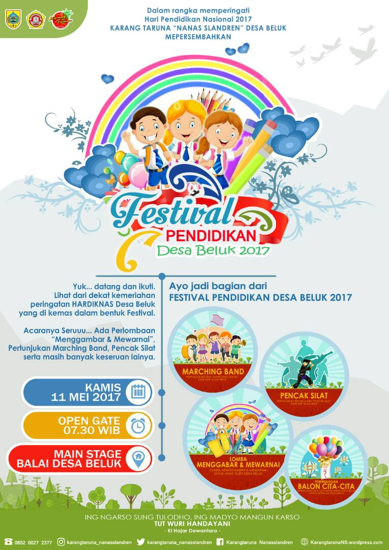 Festival Pendidikan Desa Beluk 2017