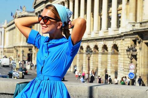 Blue Spring Dresses
