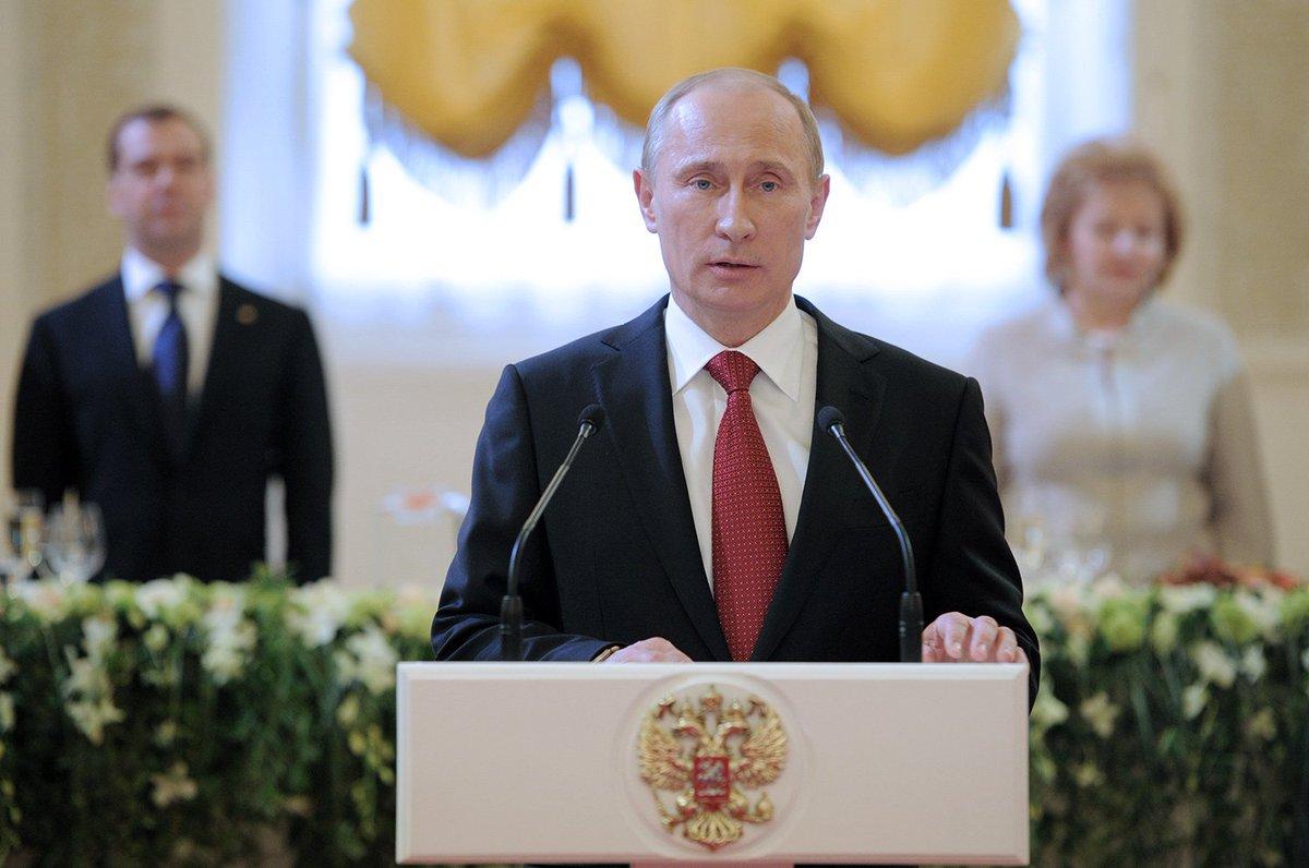 гимн россии владимир путин вступил должность президента рф