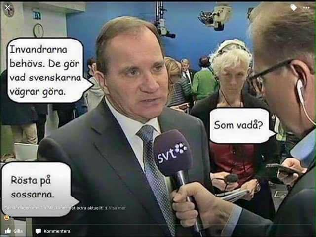 Så här kan det se ut i Sverige om det inte sker en förändring i valet 2018.