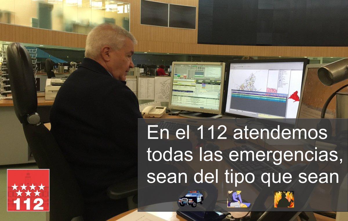 112 Comunidad Madrid On Twitter El 112 Es Un Teléfono De