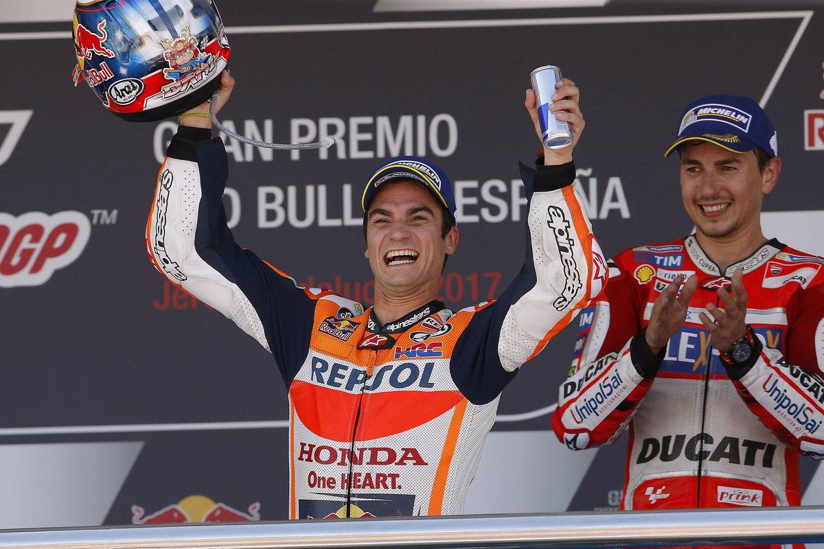MotoGP: in Spagna vince Pedrosa davanti a Marquez e Lorenzo. Decimo Valentino Rossi