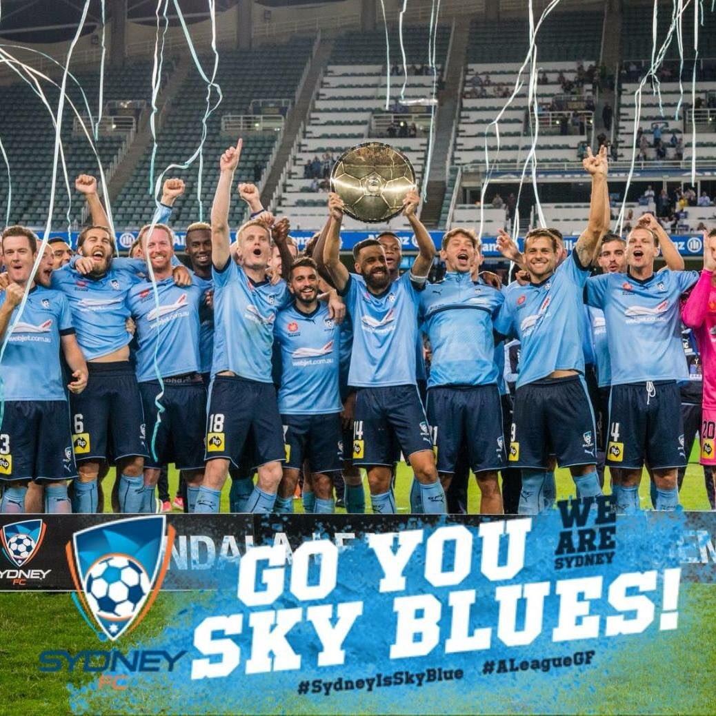 Congrats @SydneyFC - 2017 A-League Champ...