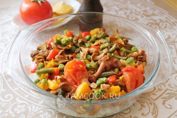 Рецепт рис с морепродуктами по тайски