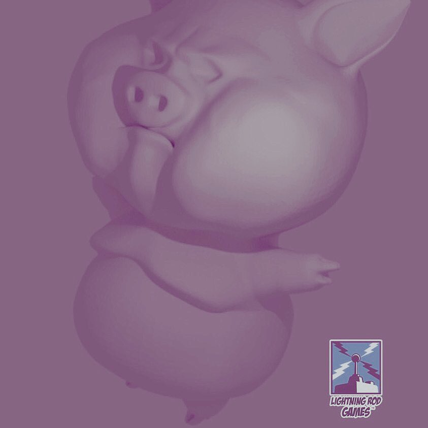 This little piggy is a preview of what we're making for #TOjam - his expression reflects @thegrittydev's commitment 😁 #tojam12 #gamedev https://t.co/pkLdIpamhz