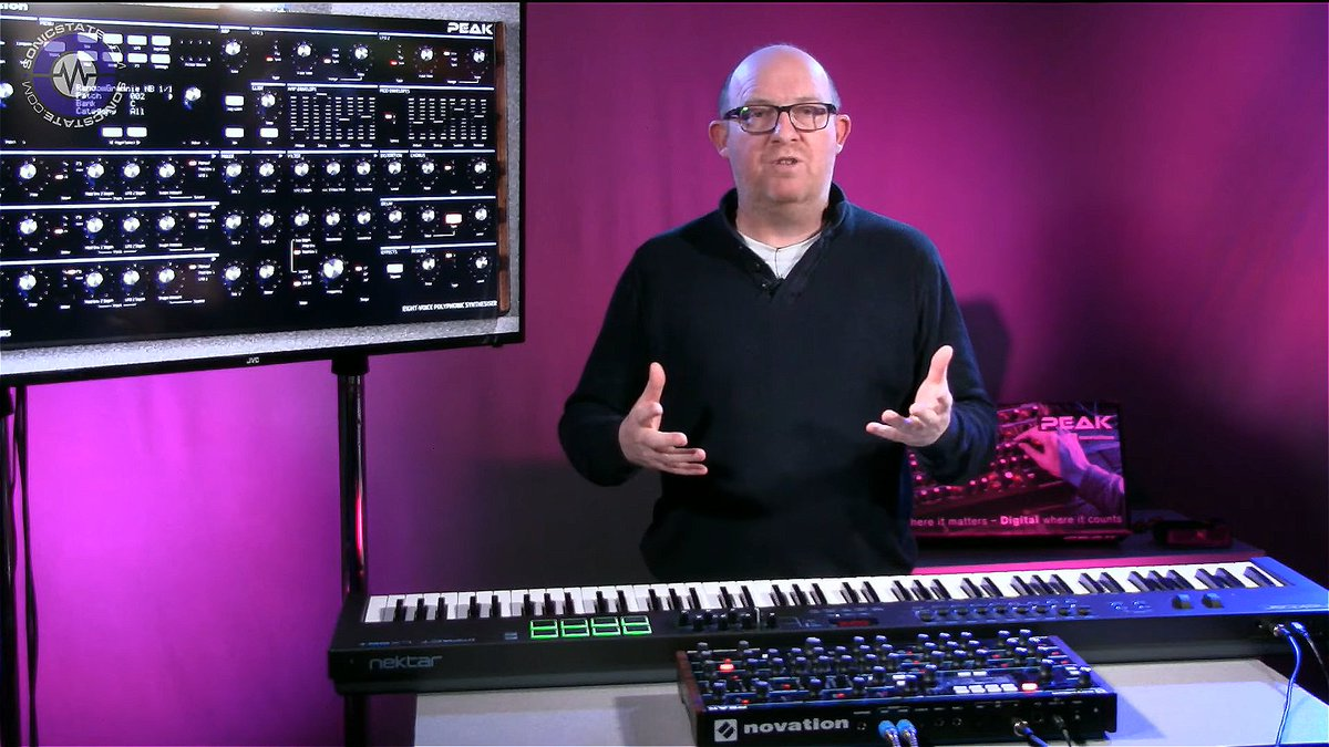 Novation On Twitter Pulse Width Modulation Loving Nick Batt Of 8211 What Is It Sonicstate Takes A Quick Look At Peak Our New 8 Voice Polyphonic Synth