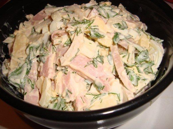 Рецепты салатов с курицей простые и вкусные