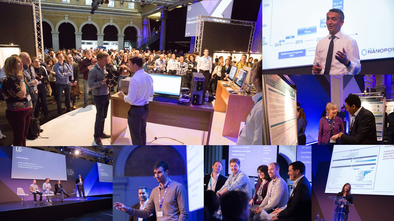 Missed the London Calling conference on @nanopore seq last week? Updates from both days now available https://t.co/zpXxxFhK3f #nanoporeconf https://t.co/jNGBi4xMnc