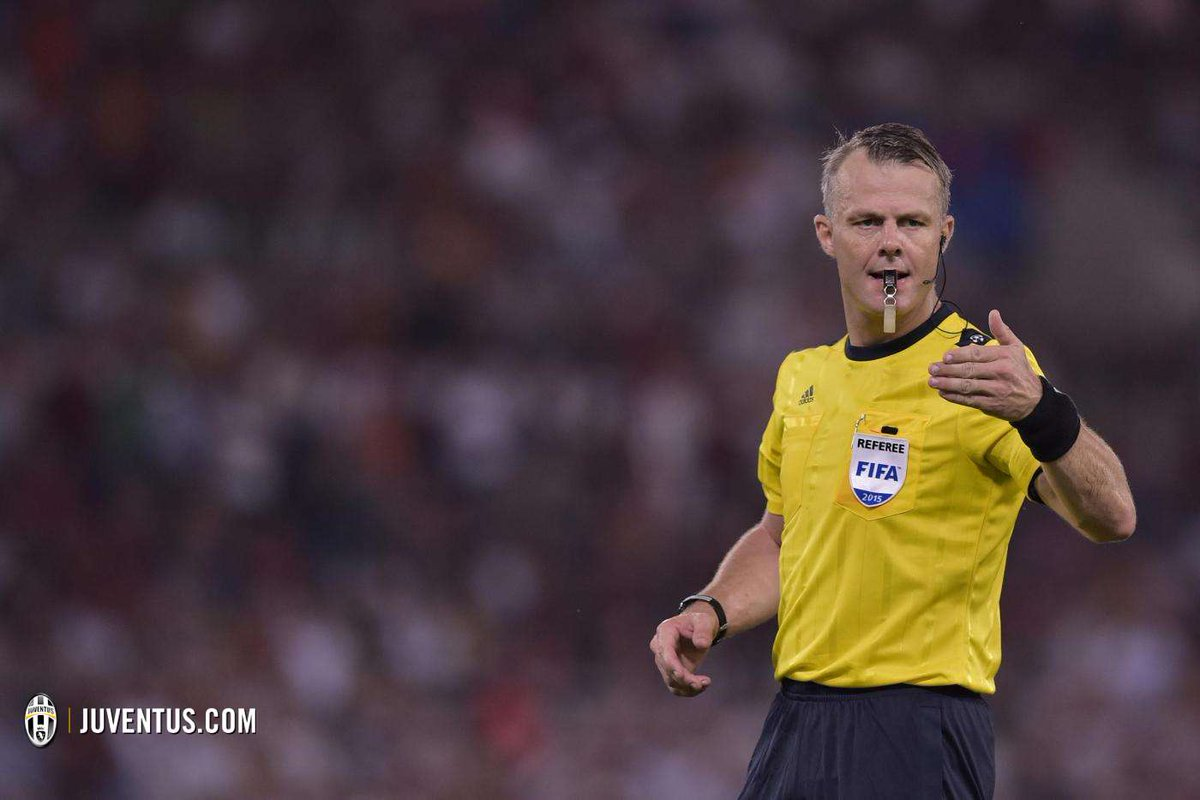 Dutch referee Bjorn Kuipers to officiate Tuesday night&#39;s #UCL semi-final second leg at Juventus Stadium. #ASMJuve <br>http://pic.twitter.com/HKDapr51wT