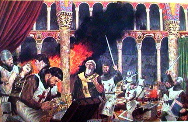 Αποτέλεσμα εικόνας για άλωση τησ κωνσταντινούπολησ 1204
