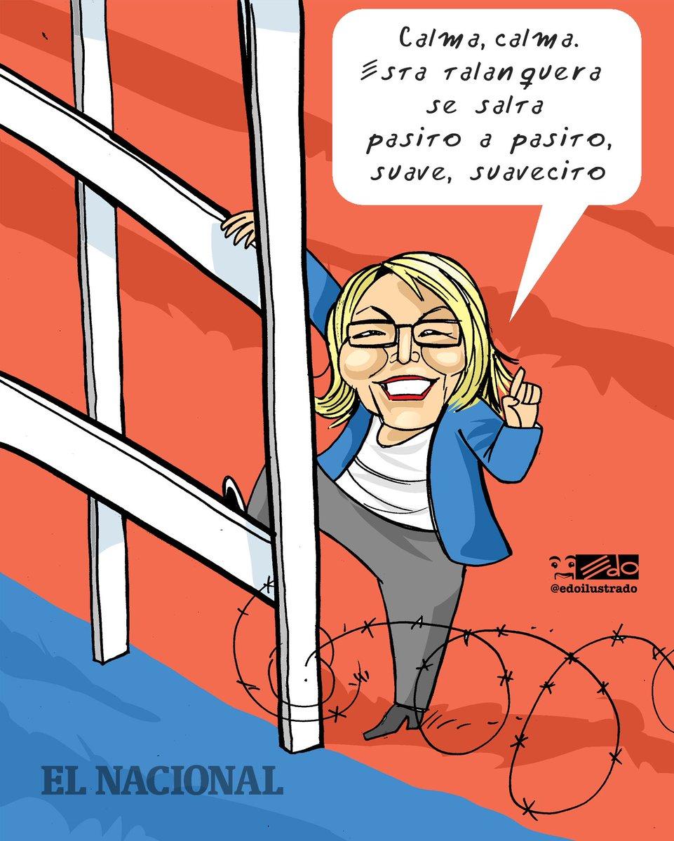 Caricatura EDO para @ElNacionalWeb: pasito a pasito...