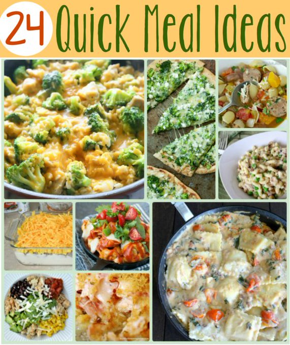 24 Quick Meals for School Nights — Life of a Southern Mom