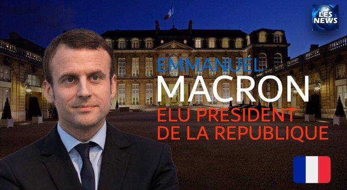 FLASH - EMMANUEL MACRON ÉLU PRÉSIDENT DE LA RÉPUBLIQUE FRANÇAISE #Presidentielle2017 #Macron2017