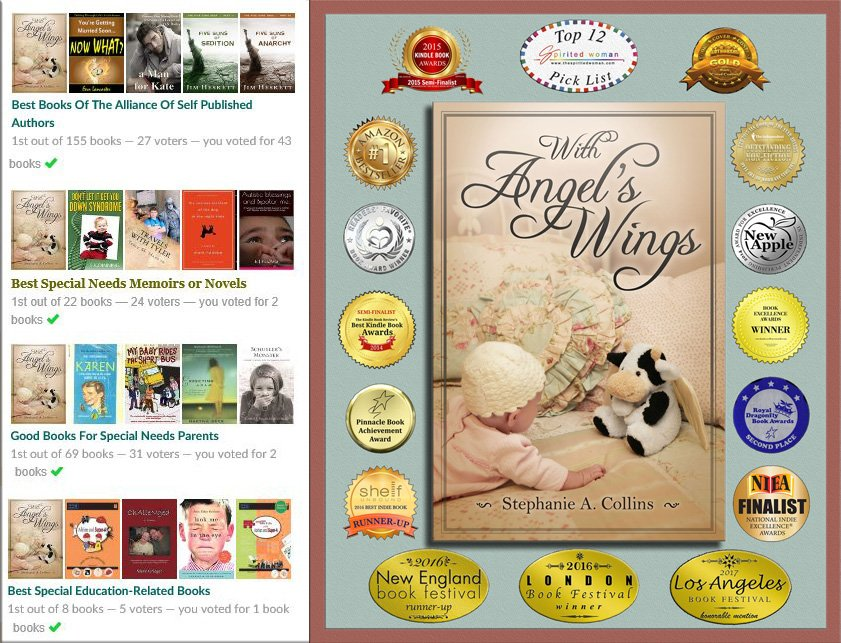 Thank you readers 4 voting this #memoir up on many #Goodreads lists!  https://www. goodreads.com/book/show/1864 2531-with-angel-s-wings &nbsp; …   http:// viewBook.at/WithAngelsWings  &nbsp;  <br>http://pic.twitter.com/KcHoJQuj1B