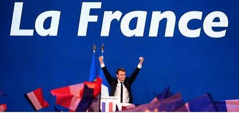 Macaron&#39;s leadership shows that Europeans are against Nazism! #France2017 #frankrike <br>http://pic.twitter.com/VlLFKUkRN7